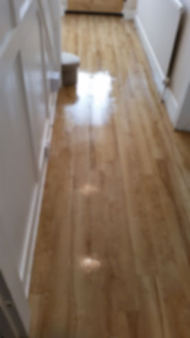 lacquerd floor