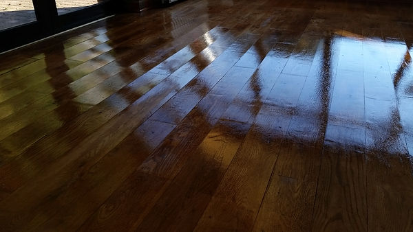 Polished Oak Floor in Bromley
