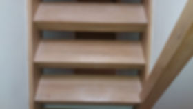 lacquered stairs