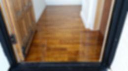 satin oak engineered floor