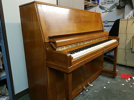 Piano French Polishing in Bronley