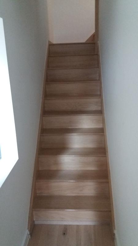 Oak Staircase French polishing Tunbridge Wells