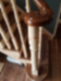 Artwood Staircase French Polishing