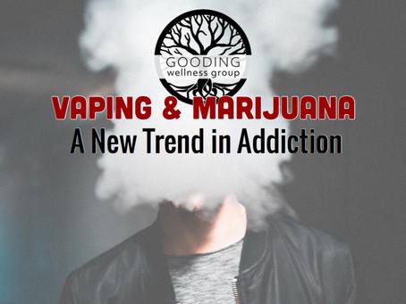 Marijuana Vaping on the Rise
