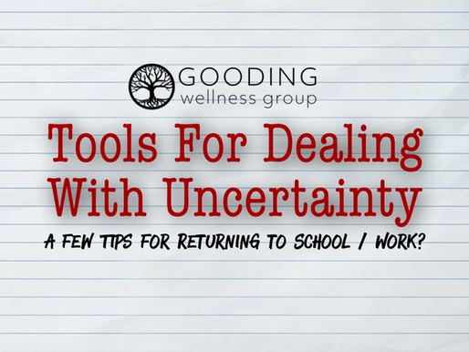 Tools for Dealing with Uncertainty