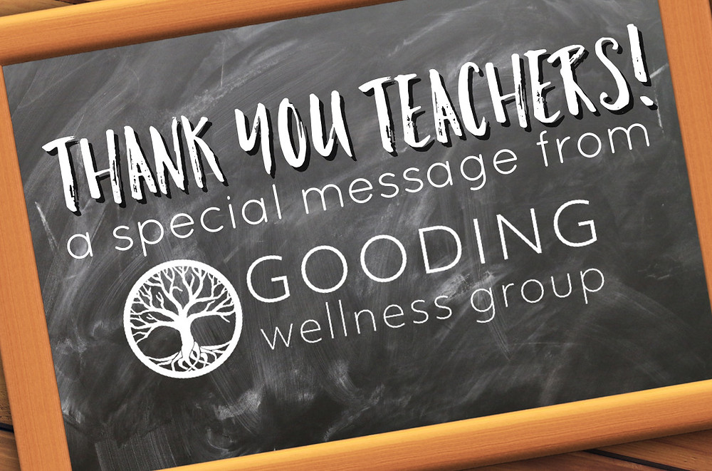 A little gratitude for our hard working teachers!