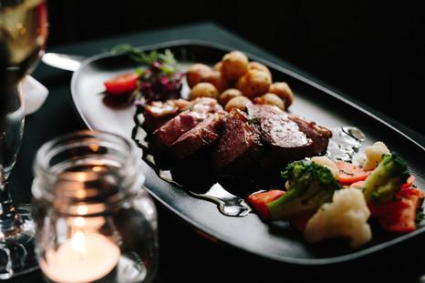 Magret de canard, sauce wisky et érable