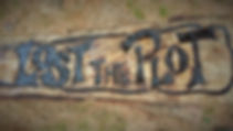 Carved sign, wooden sign