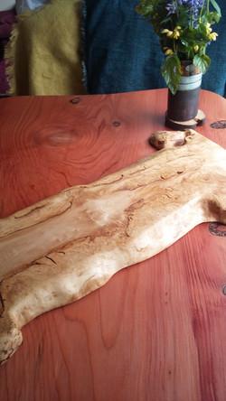 Field maple chopping/serving board/weddi