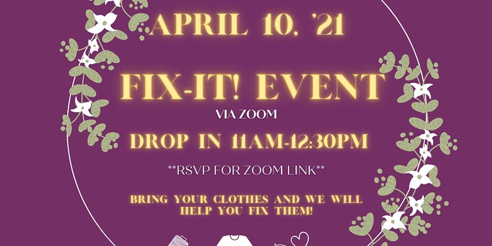April 10th Fix-It!