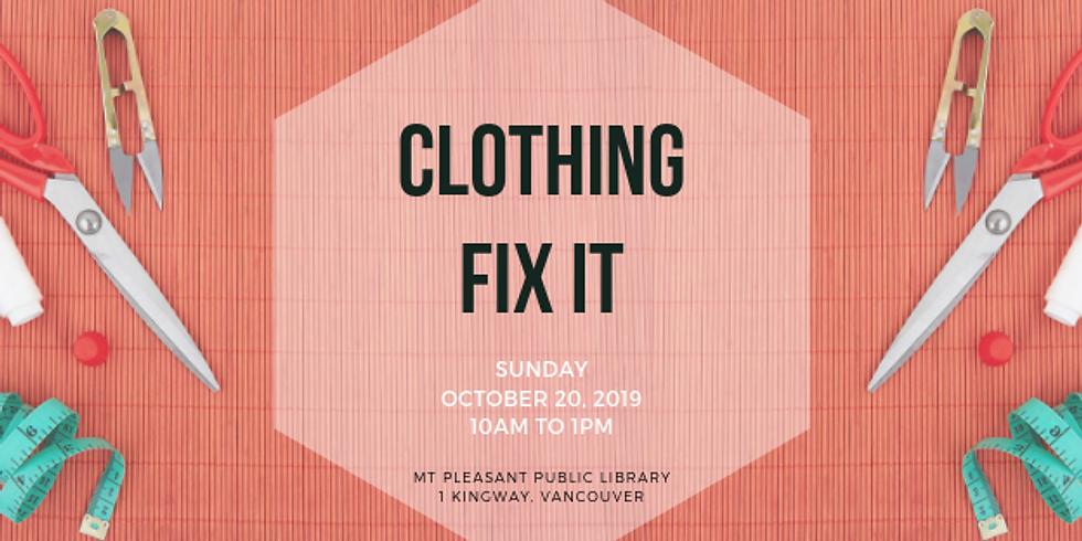 October 2019 Fix It | Mt. Pleasant Library, Vancouver
