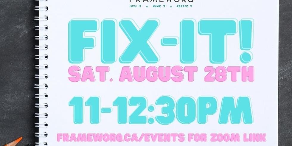 August 28th Fix-It!