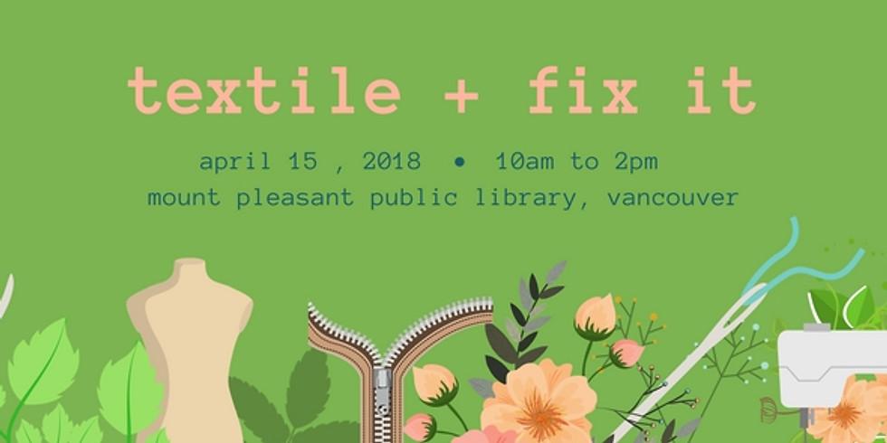 Apr. Fix It | Mt. Pleasant Library, Vancouver