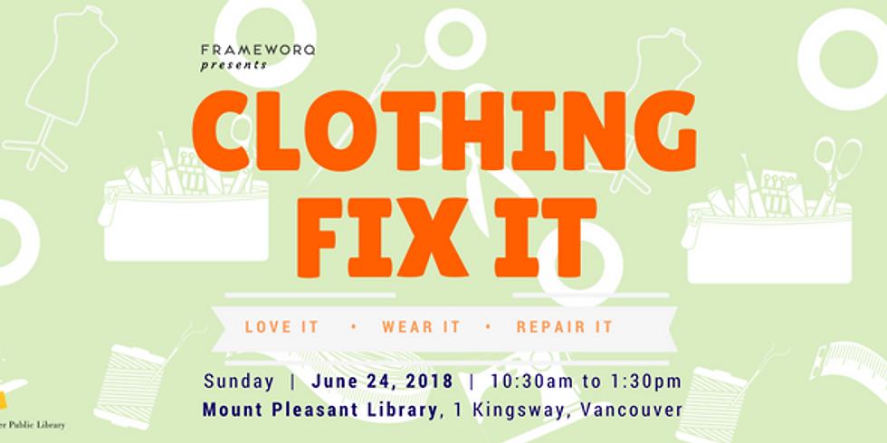 June. Fix It | Mt. Pleasant Library, Vancouver