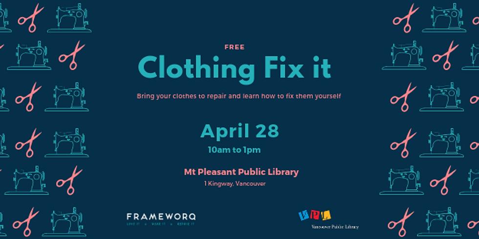 April 2019 Fix It | Mt. Pleasant Library, Vancouver