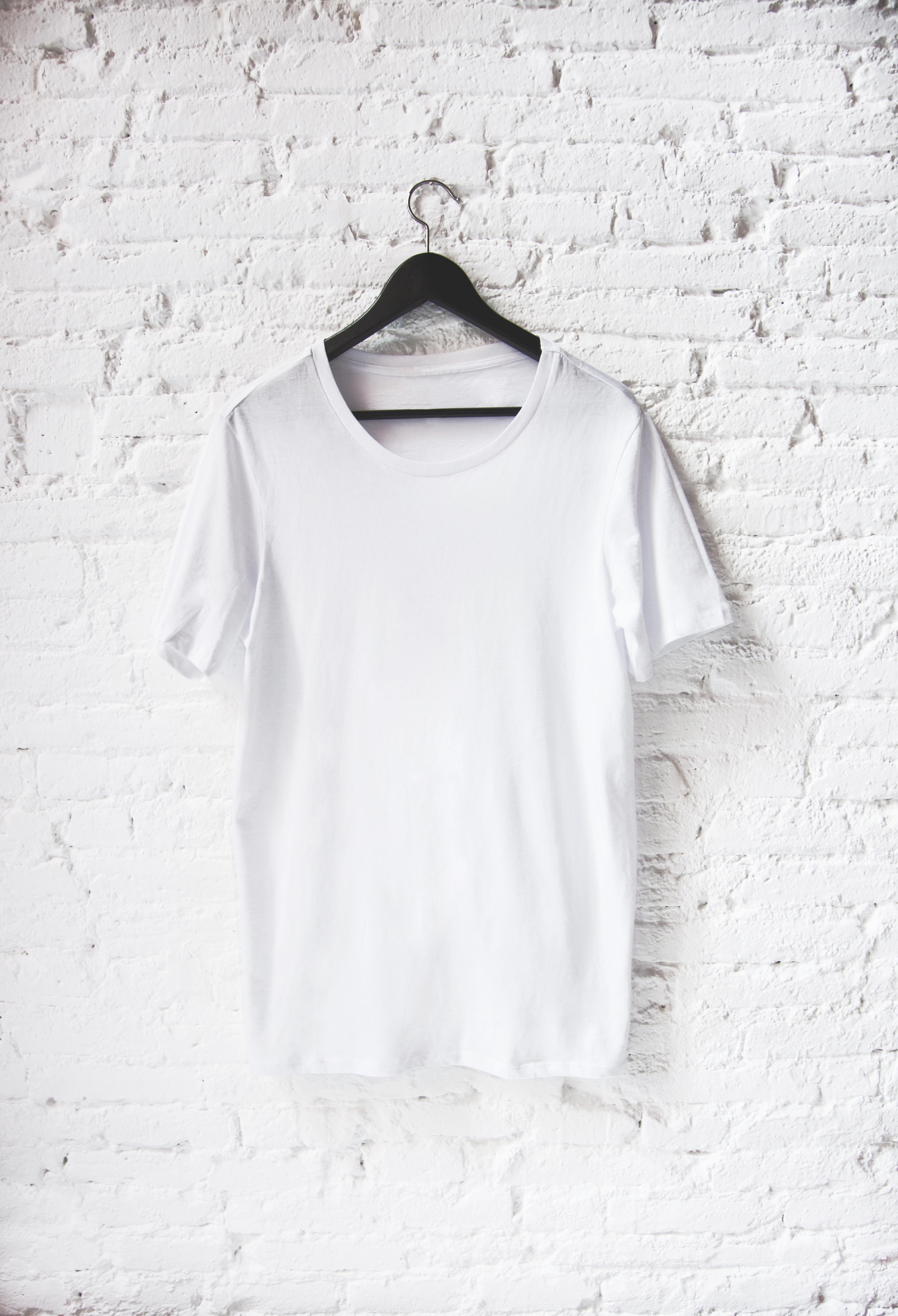 White wall T-shirt