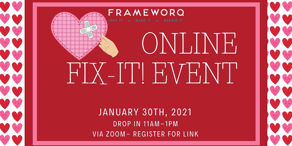 Fix-It! via Zoom