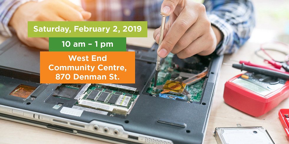 February Fixers Extravaganza | West End Community Centre