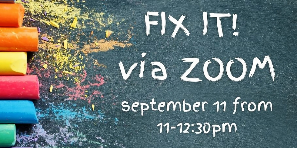 September 11th Fix-It!