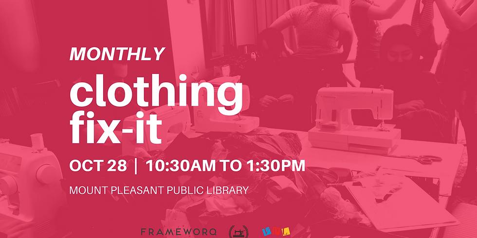 October Fix It | Mt. Pleasant Library, Vancouver