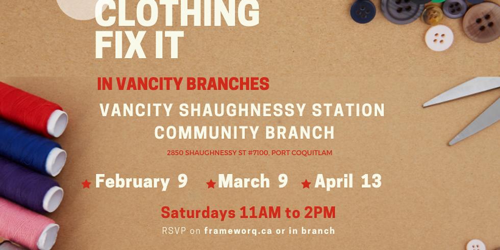 April Fix it | Vancity Port Coquitlam