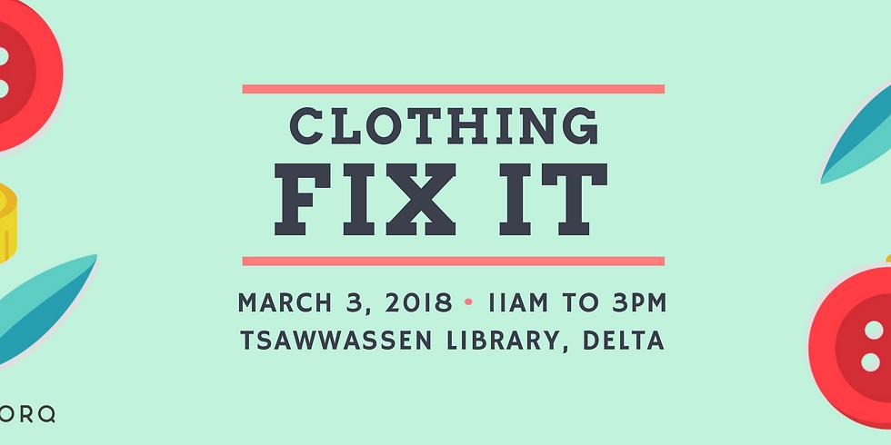Fix It | Tsawwassen Library
