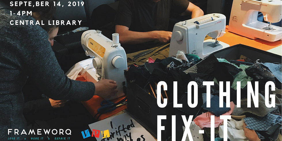 September Fix It | Central Library, Vancouver