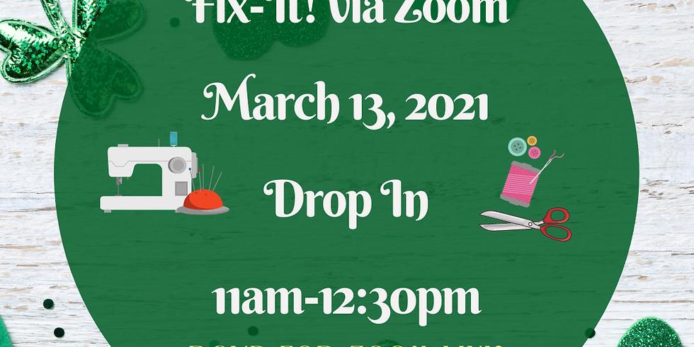 March 13th Fix-It!
