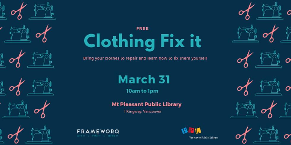 March 2019 Fix It | Mt. Pleasant Library, Vancouver