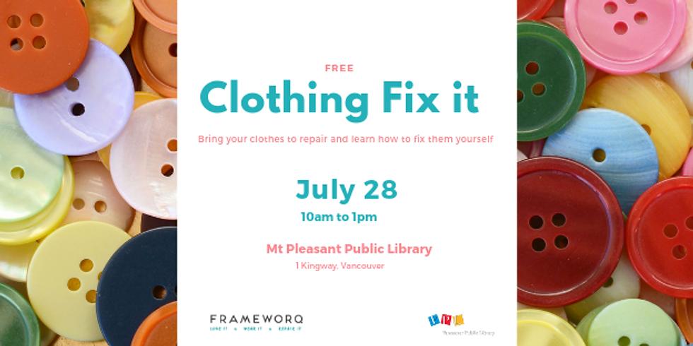 July 2019 Fix It   Mt. Pleasant Library, Vancouver