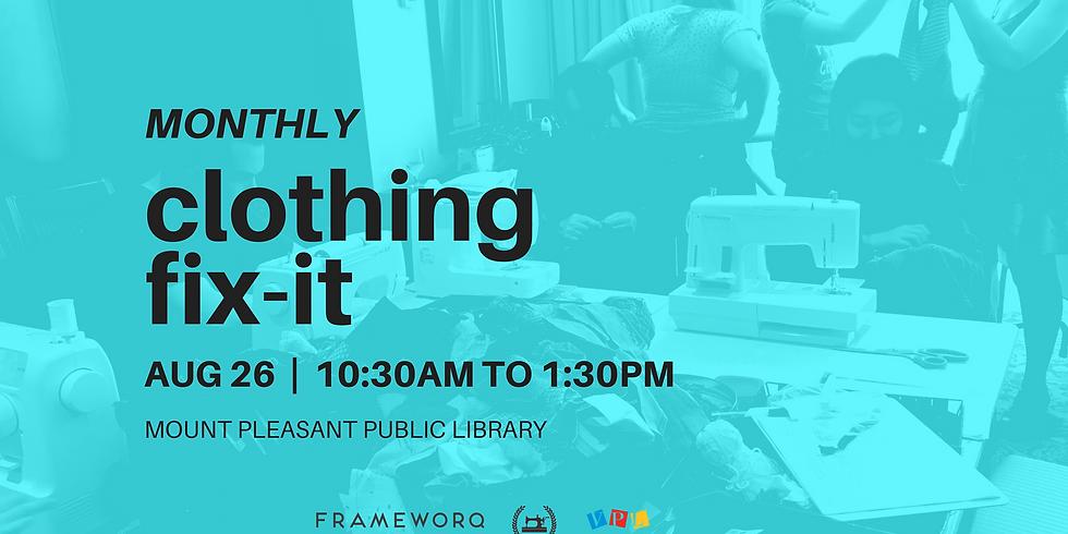 August Fix It | Mt. Pleasant Library, Vancouver