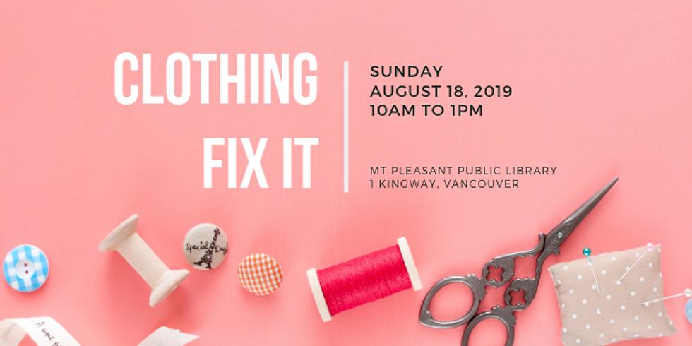 August 2019 Fix It | Mt. Pleasant Library, Vancouver