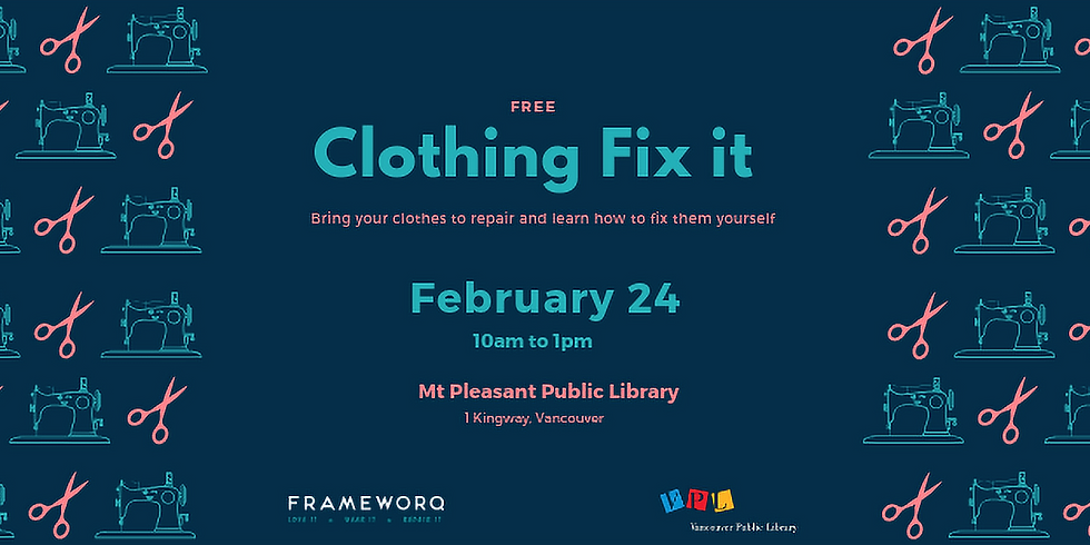February 2019 Fix It | Mt. Pleasant Library, Vancouver