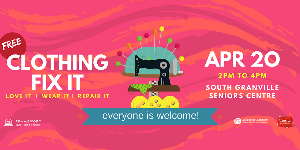 Apr. Fix It | South Granville Seniors Centre