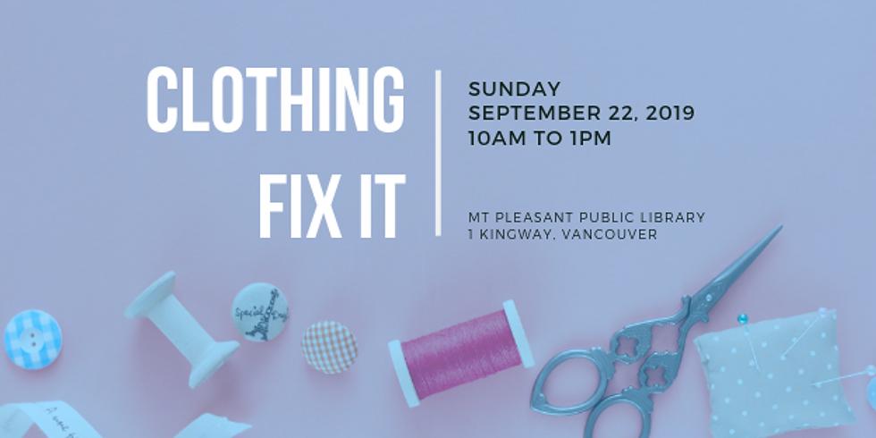 September 2019 Fix It | Mt. Pleasant Library, Vancouver