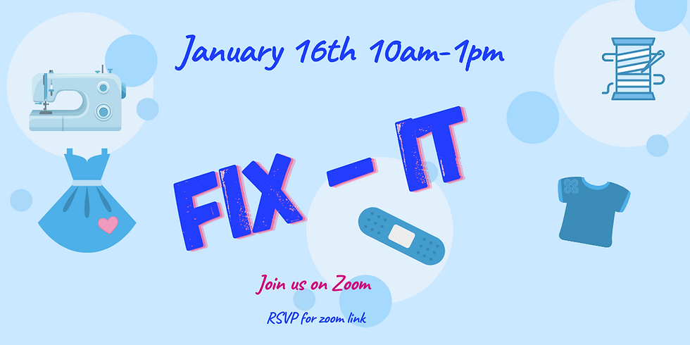 Fix-It! Repair Event