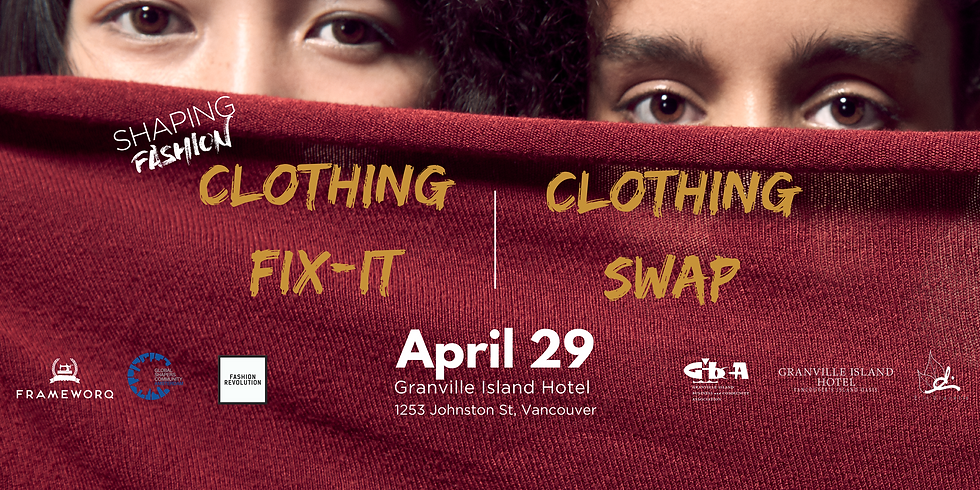 Granville Island Fix-it and Clothing Swap