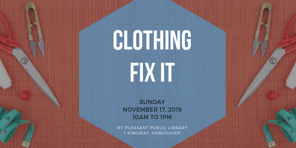 November 2019 Fix It | Mt. Pleasant Library, Vancouver