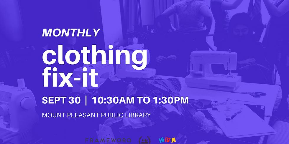 September Fix It | Mt. Pleasant Library, Vancouver