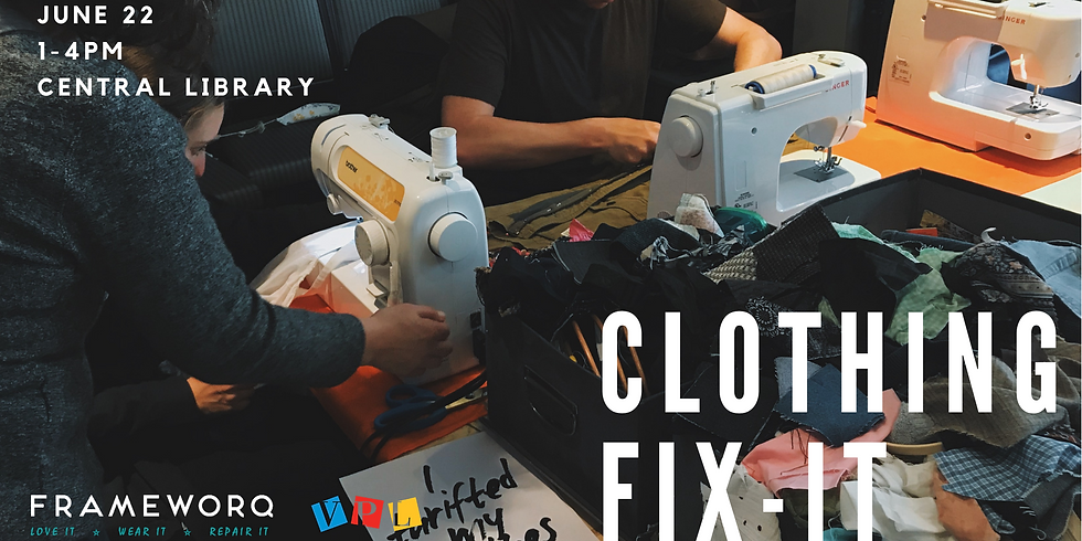 June Fix It | Central Library, Vancouver