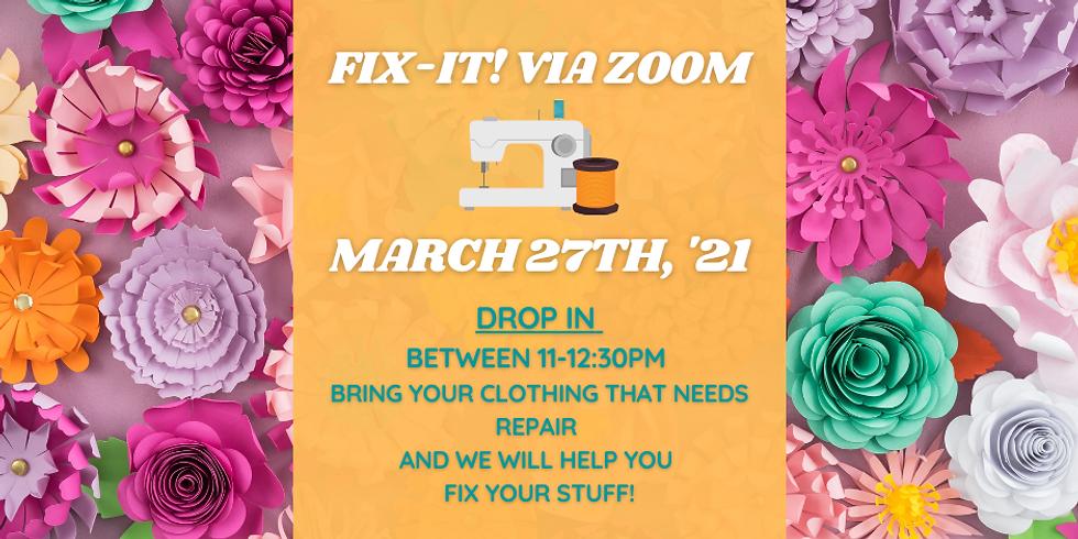 March 27th Fix-It!