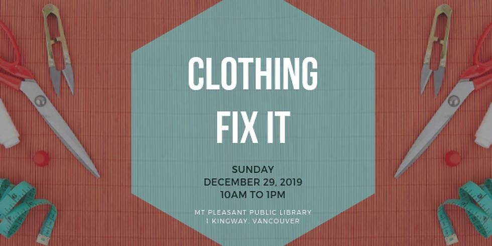 December 2019 Fix It | Mt. Pleasant Library, Vancouver