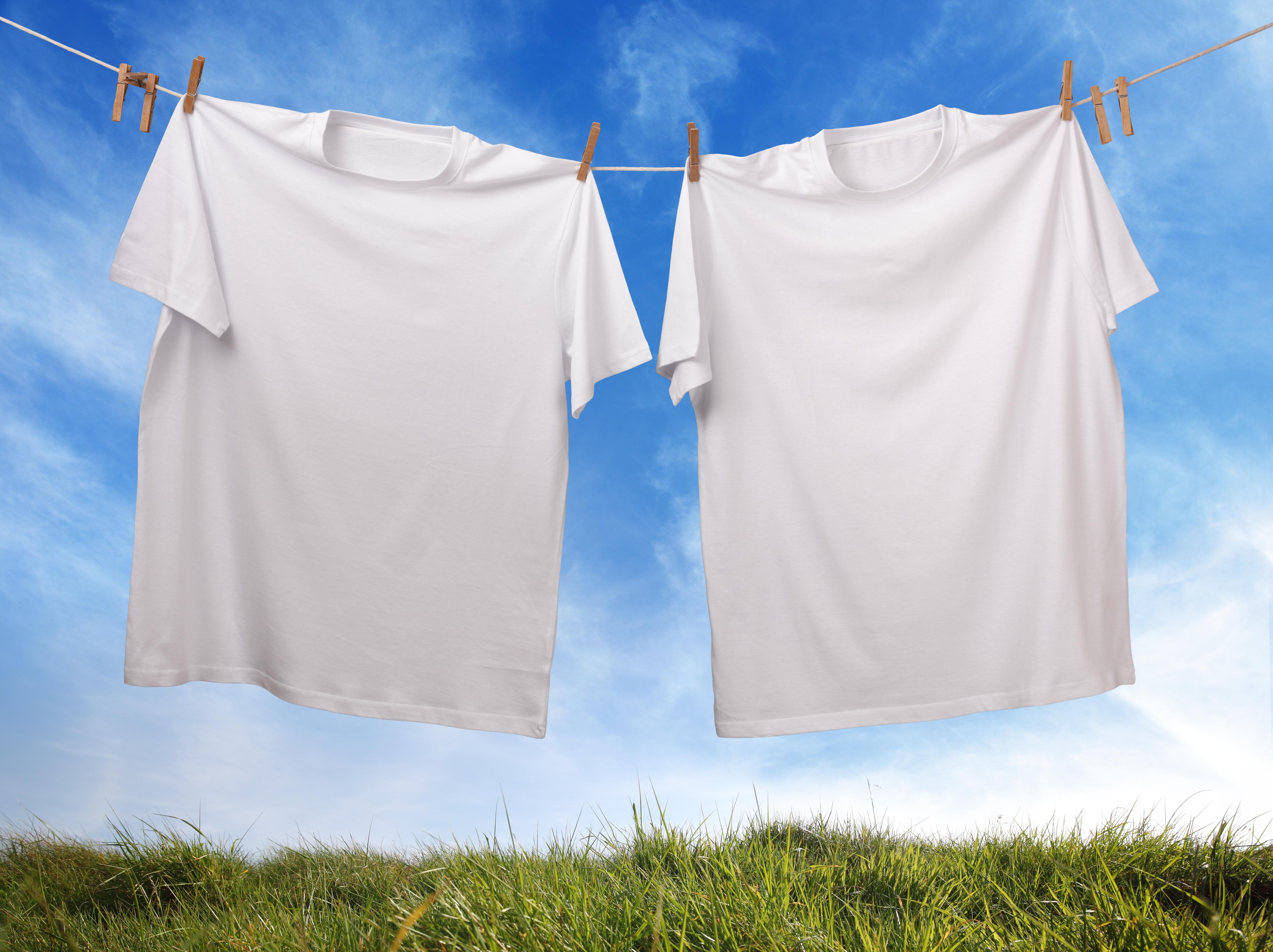 Hanging T-shirt