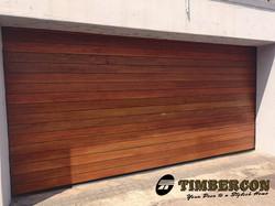 Horizontal Slatted Timber