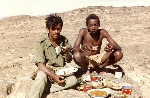 Lt Mohd Salim Ali and Gunner Marzook