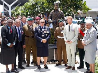 Statue of Sergeant Talaiasi Labalaba Unveiled in Fiji
