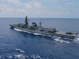 HMS Montrose at Duqm