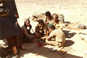 Sgt Saleh Suleyam and section