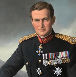 Major General Corran Purdon CBE MC CPM