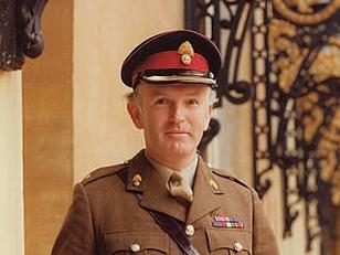 Colonel David Houlton MBE